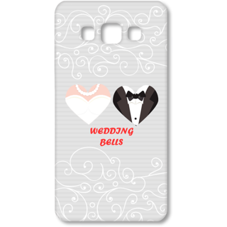 SAMSUNG GALAXY A7 Designer Hard-Plastic Phone Cover from Print Opera - Wedding Bells