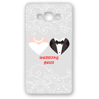 SAMSUNG GALAXY A8 Designer Hard-Plastic Phone Cover from Print Opera - Wedding Bells
