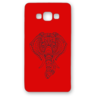 SAMSUNG GALAXY A8 Designer Hard-Plastic Phone Cover from Print Opera - Artistic Elephant