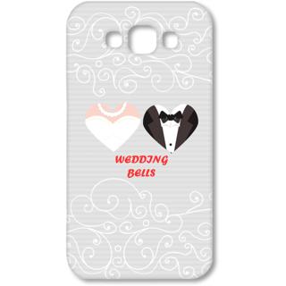SAMSUNG GALAXY E7 Designer Hard-Plastic Phone Cover from Print Opera - Wedding Bells