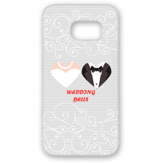 SAMSUNG GALAXY S7 Designer Hard-Plastic Phone Cover from Print Opera - Wedding Bells