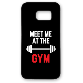 SAMSUNG GALAXY S7 Edge Designer Hard-Plastic Phone Cover from Print Opera - Meet me at the Gym