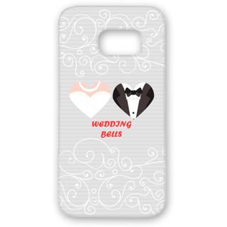 SAMSUNG GALAXY S7 Edge Designer Hard-Plastic Phone Cover from Print Opera - Wedding Bells