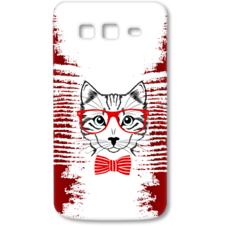 SAMSUNG GALAXY Grand 2 Designer Hard-Plastic Phone Cover from Print Opera - Seholastic Cat