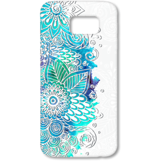 SAMSUNG GALAXY S6 Designer Hard-Plastic Phone Cover from Print Opera - Flowers and Plants