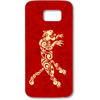 SAMSUNG GALAXY S6 Designer Hard-Plastic Phone Cover from Print Opera - Artistic Lion