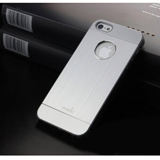 Luxury Metal brush Cover iPhone 5 hard case