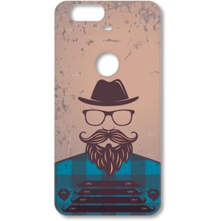 Google Nexus 6P Designer Hard-Plastic Phone Cover from Print Opera - A Man