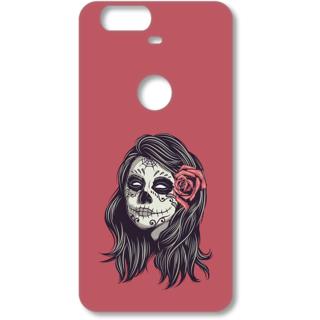 Google Nexus 6P Designer Hard-Plastic Phone Cover from Print Opera - Horrible Girl