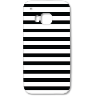 HTC One M9 Designer Hard-Plastic Phone Cover from Print Opera - Black and White