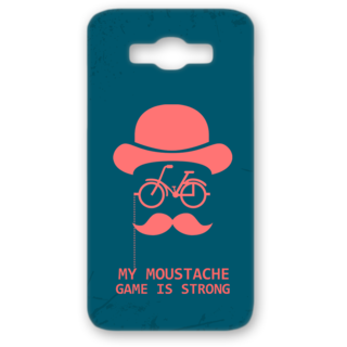 SAMSUNG GALAXY J7 Designer Hard-Plastic Phone Cover from Print Opera - My Moustache Game Is Strong