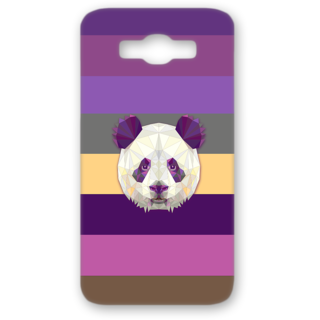 SAMSUNG GALAXY J7 Designer Hard-Plastic Phone Cover from Print Opera - Holographic Panda