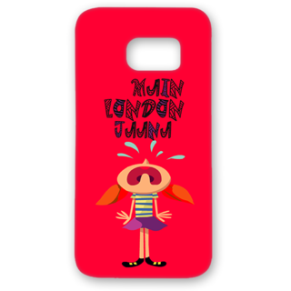 SAMSUNG GALAXY S7 Designer Hard-Plastic Phone Cover from Print Opera - Crying Cartoon