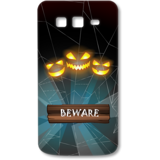 SAMSUNG GALAXY Grand 2 Designer Hard-Plastic Phone Cover from Print Opera - Beware
