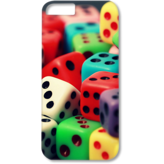 Iphone6-6s Plus Designer Hard-Plastic Phone Cover from Print Opera - Multiples Dice