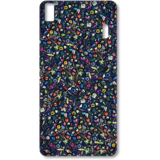 Lenovo K3 Note Designer Hard-Plastic Phone Cover from Print Opera - Multiple Symbols