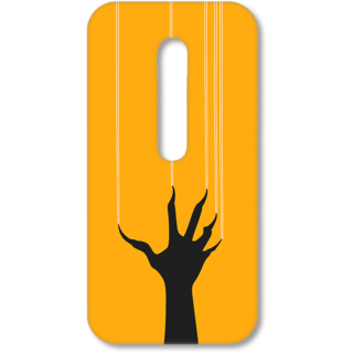 MOTO G3 Designer Hard-Plastic Phone Cover from Print Opera - Horrible Hand