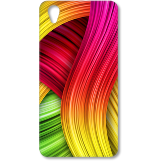ONE PLUS X Designer Hard-Plastic Phone Cover from Print Opera - Coloured Design
