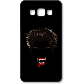 SAMSUNG GALAXY A7 Designer Hard-Plastic Phone Cover from Print Opera - Black Bloody Vampire