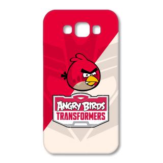 SAMSUNG GALAXY E7 Designer Hard-Plastic Phone Cover from Print Opera - Angry Bird Transformers