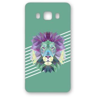 SAMSUNG GALAXY J5 Designer Hard-Plastic Phone Cover from Print Opera - The Lion