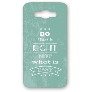 SAMSUNG GALAXY J7 Designer Hard-Plastic Phone Cover from Print Opera - Quotes