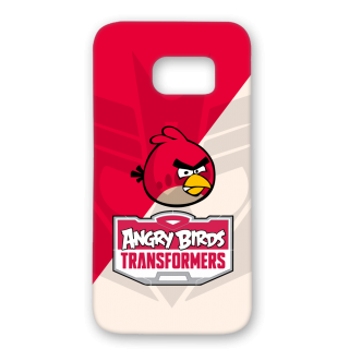 SAMSUNG GALAXY S7 Designer Hard-Plastic Phone Cover from Print Opera - Angry Bird Transformers
