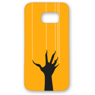 SAMSUNG GALAXY S7 Edge Designer Hard-Plastic Phone Cover from Print Opera - Horrible Hand