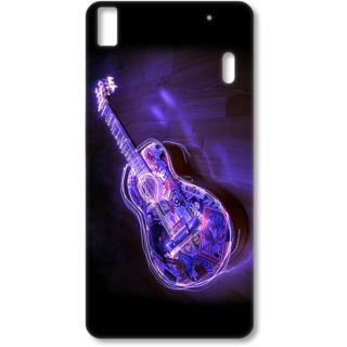 Lenovo K3 Note Designer Hard-Plastic Phone Cover from Print Opera - Guitar