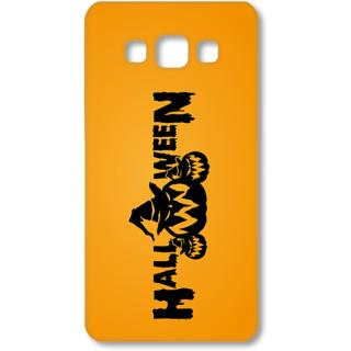 SAMSUNG GALAXY A7 Designer Hard-Plastic Phone Cover from Print Opera - Halloween