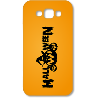 SAMSUNG GALAXY E7 Designer Hard-Plastic Phone Cover from Print Opera - Halloween
