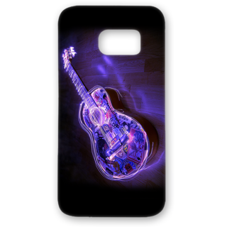 SAMSUNG GALAXY S7 Edge Designer Hard-Plastic Phone Cover from Print Opera - Guitar