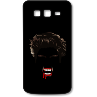 SAMSUNG GALAXY Grand 2 Designer Hard-Plastic Phone Cover from Print Opera - Black Bloody Vampire