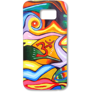 SAMSUNG GALAXY S6 Designer Hard-Plastic Phone Cover from Print Opera - Om Painting