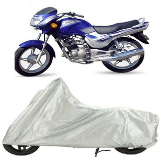 TVS Victor Edge Bike Cover Silver (Rohaas)