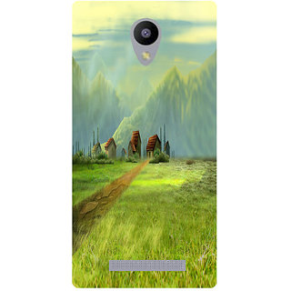 Amagav Printed Back Case Cover for Lyf Flame 5 147LfyFlame5