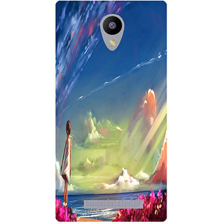Amagav Printed Back Case Cover for Lyf Flame 5 148LfyFlame5