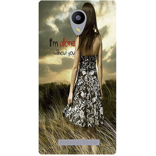 Amagav Printed Back Case Cover for Lyf Flame 5 234LfyFlame5