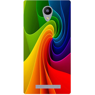 Amagav Printed Back Case Cover for Lyf Flame 5 221LfyFlame5