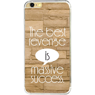 ifasho quotes on success Back Case Cover for   6