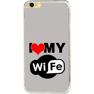 ifasho I love my wife quotes Back Case Cover for   6