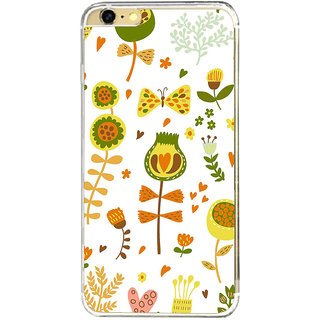 ifasho Animated Pattern colrful design cartoon flower with leaves Back Case Cover for   6