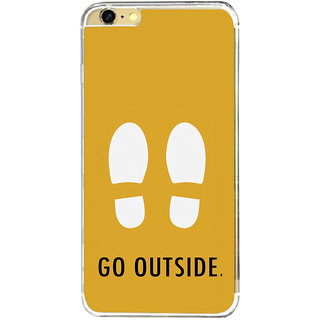 ifasho life Quotes go outside Back Case Cover for   6