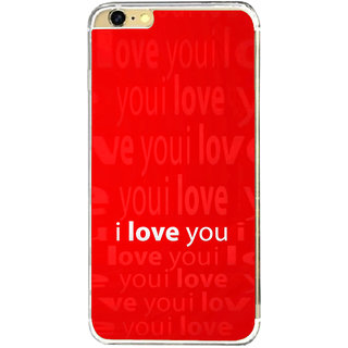 ifasho Love Quotes I love you Back Case Cover for   6