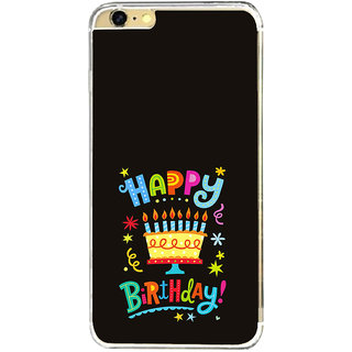 ifasho Wishing Happy birtday For Occassion Back Case Cover for   6