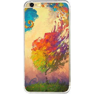 ifasho Tree Painting Back Case Cover for   6