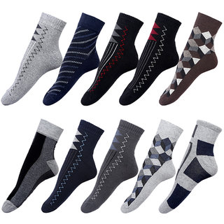 By The Way Ankle Length Socks (Pair of 10)