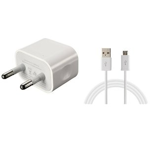2A Wall Charger (Travelling Charger) White for Oppo R7 plus by Jiyanshi