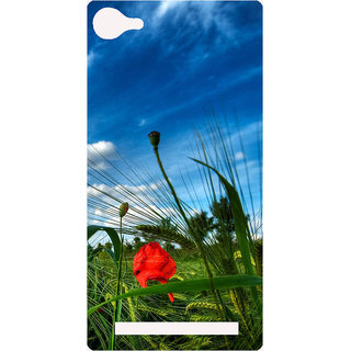 Amagav Printed Back Case Cover for Lava A76 567LavaA76