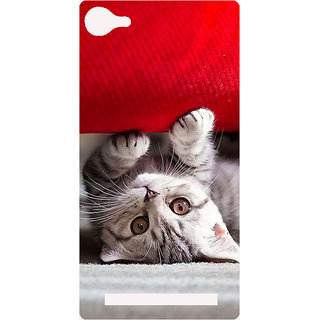 Amagav Printed Back Case Cover for Lava A76 568LavaA76